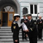Награждаване на курвсанти от ВВМУ по случай Денят на народните будители